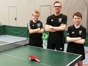 Chris Andersen, Florian Plotek und Marcel Karst