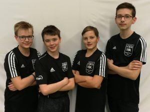 Chris Andersen, Marcel Karst, Robin Schulz und Fabian Gehlen