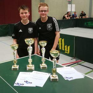 Marcel Karst und Chris Andersen
