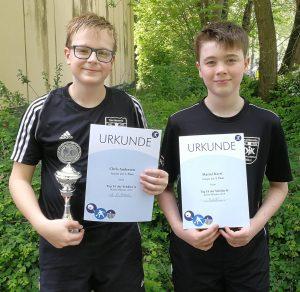Chris Andersen und Marcel Karst