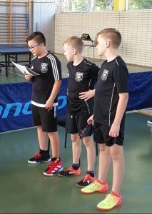 Die Jüngsten der DJK, das Team der Jungen 13