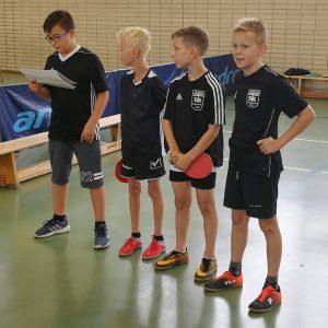 v. l.: Onur Salbas, Collin Müller, Eymen Kara, Lukas Wagner