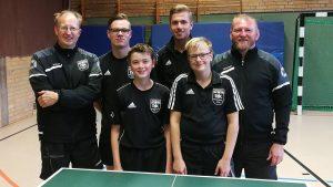 hinten: Markus Andersen, Florian Plotek, Cedric Franke, Roman Mrozek<br />vorne: Marcel Karst, Chris Andersen