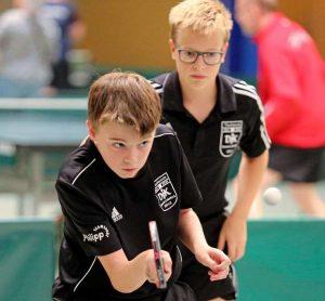 Längst etabliert bei der DJK Germania Lenkerbeck:<br />Die Youngster Marcel Karst und Chris Andersen trugen ihren Teil zum Erfolg bei.
