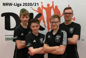 v. l.: Samuel, Marcel, Chris und Florian